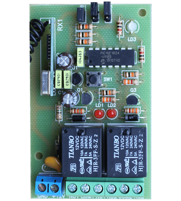 Програмируем модул двуканален MA2 платка