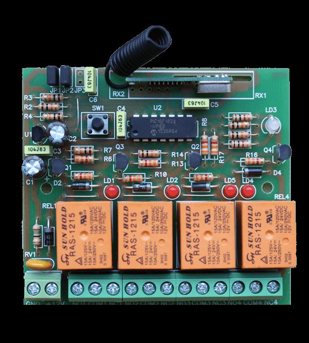 Програмируем модул четириканален MA4