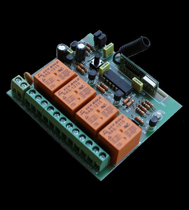 Програмируем модул четириканален MA4 платка
