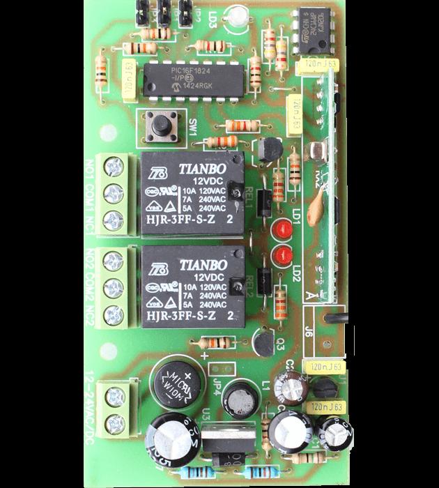 Програмируем модул двуканален MB2 платка