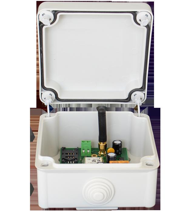 Контролен Блок GSM комуникатор отворен