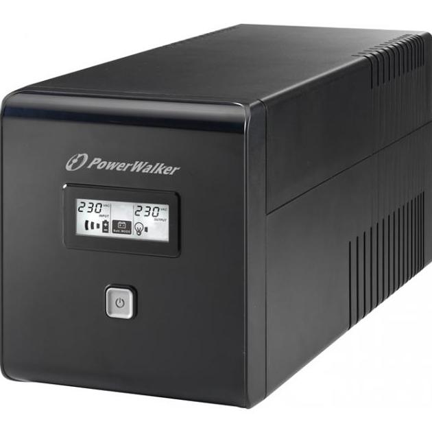 UPS POWERWALKER VI 1000 LCD, 1000VA, LINE INTERACTIVE-