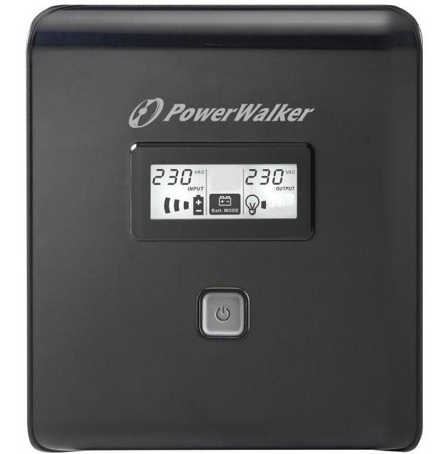 UPS POWERWALKER VI 1000 LCD, 1000VA, LINE INTERACTIVE 2
