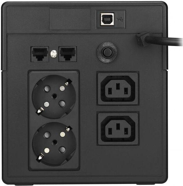 UPS POWERWALKER VI 1000 LCD, 1000VA, LINE INTERACTIVE 3
