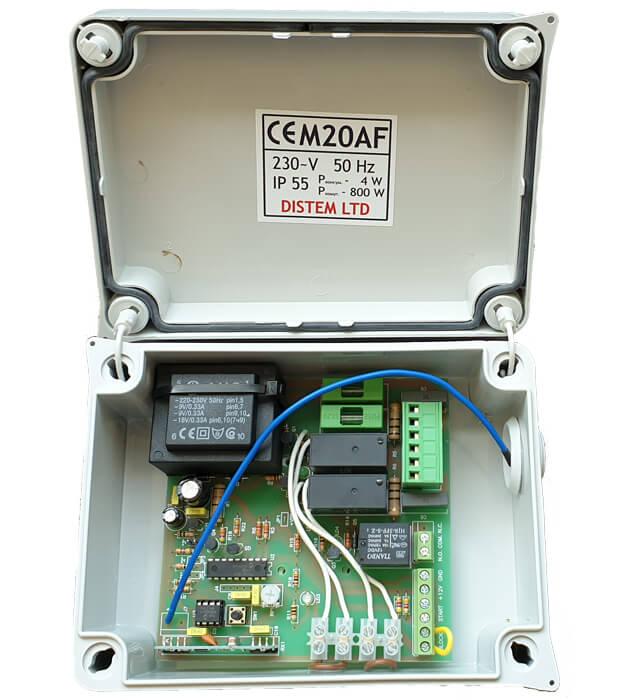 garajna-vrata-kontrolen-blok-M20AF-plazgashta-vrata-